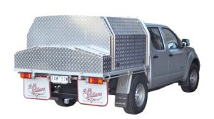 Custom built aluminium toolboxes economically - Ute Safe