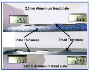 Aluminium Tread Plate - Ute Safe
