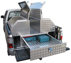 Ute Safe Aluminium Toolboxes