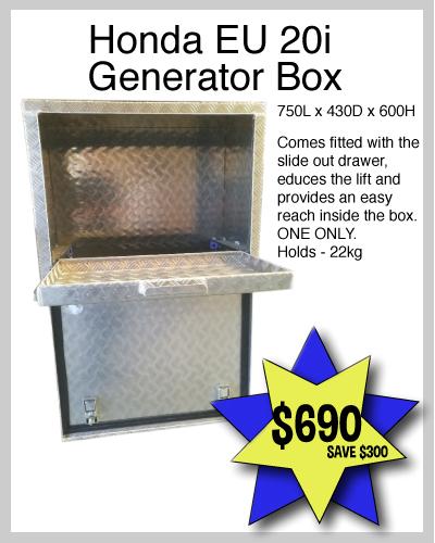 Honda EU 20i Generator Box